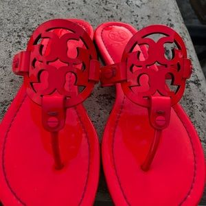 Tory Burch Shoes - Tory Burch Miller sandals hot pink neon 7